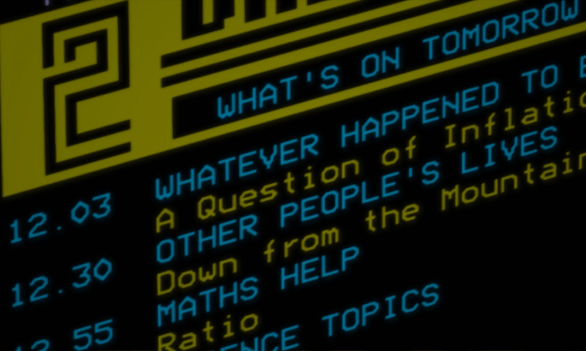 The Teletext Archaeologist
